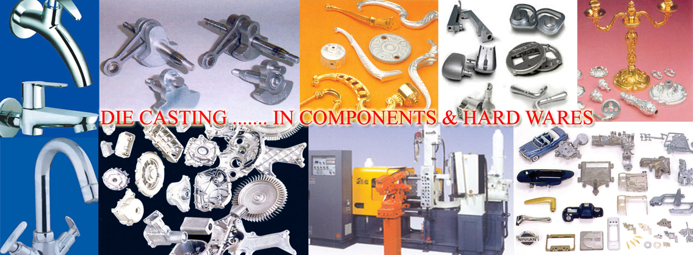Die Casting components and hardware